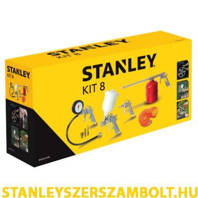 Stanley 8 részes levegős szerszám készlet (KIT8)