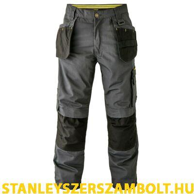 Stanley Szürke-Fekete Térdvédős Munkanadrág (NEWARK-38/33)