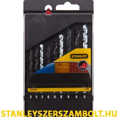 Stanley Fúrószár készlet Vegyes: Fa, Fém, Tégla (STA56005)