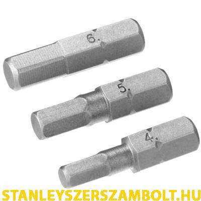 Stanley  Bitfej szett Hx4, Hx5, Hx6  (STA61083)