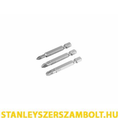 Stanley PZ1, PZ2, PZ3 Bitfej szett 50mm (STA61180)