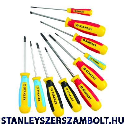 Stanley Magnum csavarhúzó készlet 10 részes (STHT0-62201)