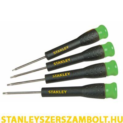 Stanley precíziós rögzített pengés csavarhúzó készlet,  4 részes, Torx (STHT0-62630)