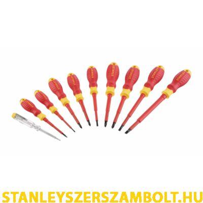 Stanley 10 részes VDE csavarhúzó készlet (STHT60032-0)