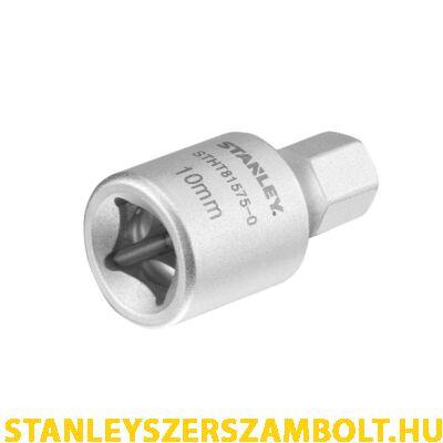 """Stanley Olajleeresztő Dugókulcs Hex 3/8"""" 10 mm-es (STHT81575-0)"""