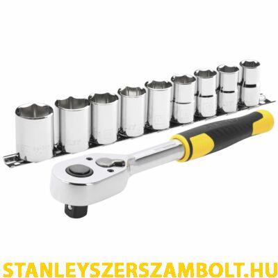 """Stanley 1/2 """" Dugókulcs Szett 5 Fokonkénti Fogazással (STMT82671-0)"""