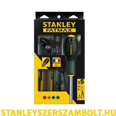 Stanley FatMax csavarhúzó készlet vízpumpafogóval 5 részes (FMHT0-62639)