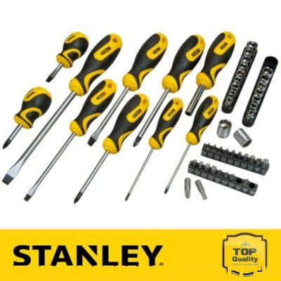 Stanley 48 részes csavarhúzó készlet, szövet hordtáskával (STHT0-70887)