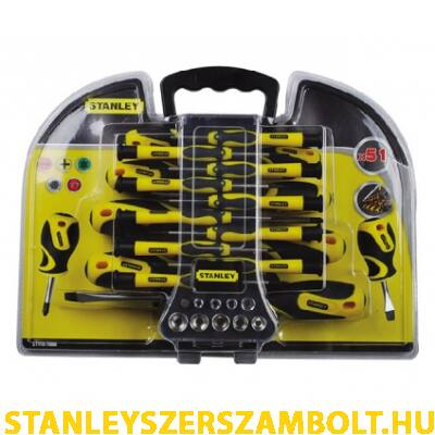 Stanley Multi csavarhúzó készlet 51 részes (STHT0-70888)