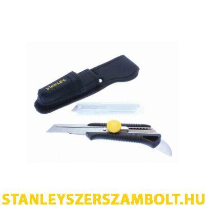 Stanley Tördelhetőpengés kés nyitóval és tokkal 18mm (STHT7-10220)