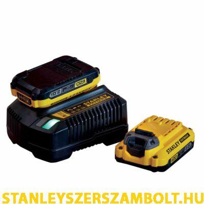 Stanley FatMax V20 Kezdőkészlet akkurendszerhez (SFMCB12D2)