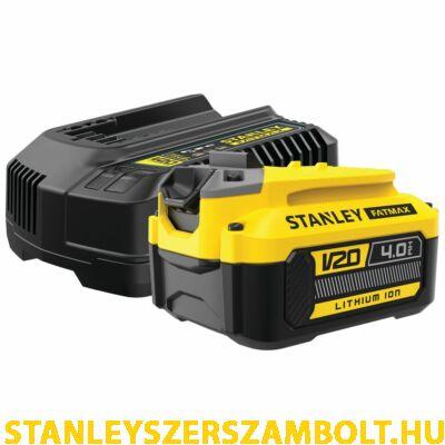 Stanley FatMax V20 Kezdőkészlet akkurendszerhez (SFMCB14M1)
