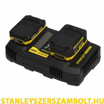 Stanley FatMax V20 két portos töltő (SFMCB24)