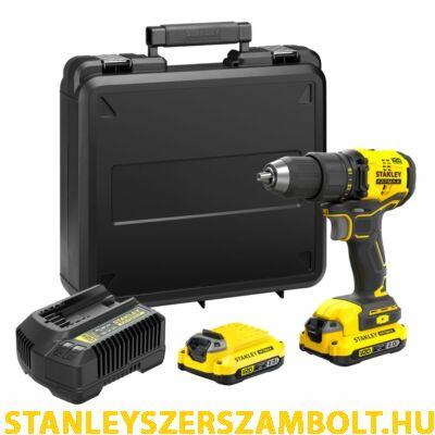 Stanley FatMax V20 akkumulátoros fúrócsavarozó (SFMCD710D2K)