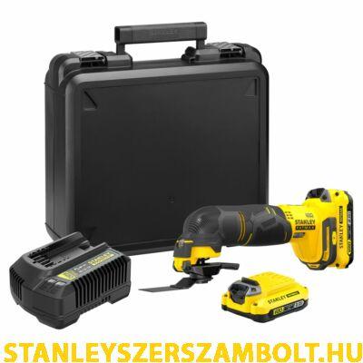 Stanley FatMax V20 akkumulátoros többfunkciós szerszámgép (SFMCE500D2K)