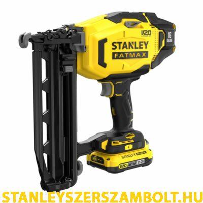 Stanley FatMax V20 akkumulátoros tűző és szegezőgép 16G (SFMCN616B)