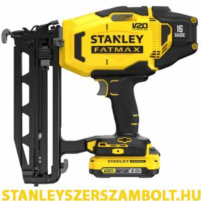 Stanley FatMax V20 akkumulátoros tűző és szegezőgép 16G (SFMCN616D2K)