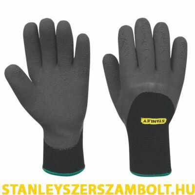 Stanley Csúszásbiztos Téli Hablatex Szerelőkesztyű (SY600L EU)