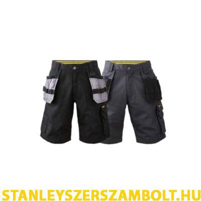 Stanley Chandler Sokzsebes Munkavédelmi rövidnadrág (CHANDLER-BLACK-36)
