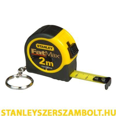 Stanley FatMax kulcstartós mérőszalag 2méter (FMHT0-33856)