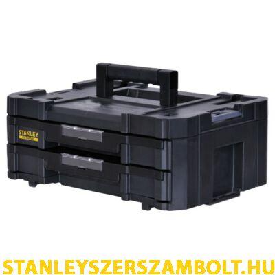 """Stanley FatMax TSTAK """"IV"""" tárolórendszer dupla fiókos (FMST1-71969)"""