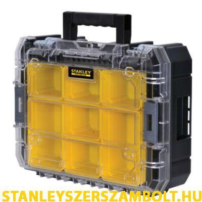 """Stanley FatMax TSTAK """"V"""" tárolórendszer átlátszó szortimenterrel (FMST1-71970)"""
