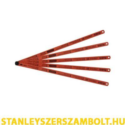 Stanley 300mm-es fémfűrészlap HSS RUBIS 5db  0-15-900