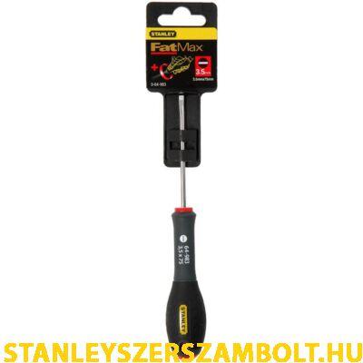 Stanley FatMax csavarhúzó párhuzamos 3,5×75mm  0-64-983
