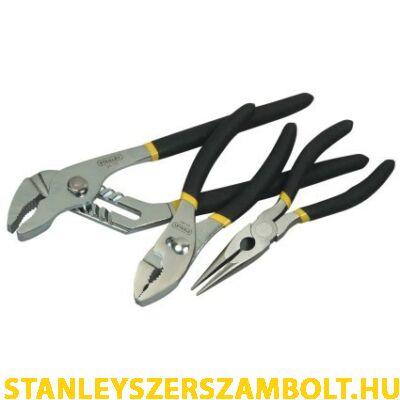 Stanley Basic fogó készlet 3 részes  0-84-892