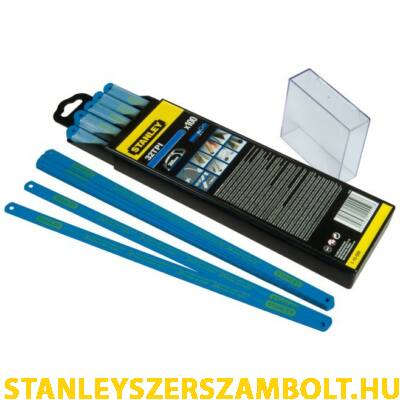 Stanley 300mm-es bi-metal fűrészlap fogazás 32TPI 100 db  (1-15-559)