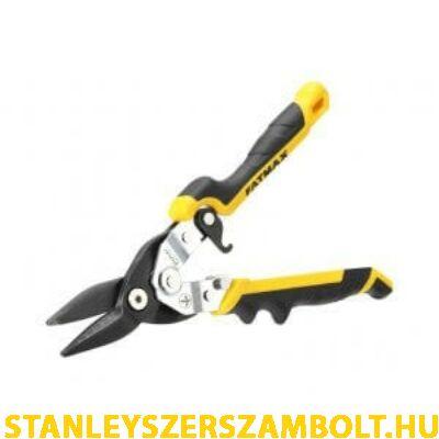 Stanley FatMax Ergo Aviation Snip - lemezvágó olló 250mm egyenes  (FMHT73756-0)