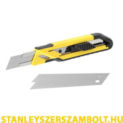 Stanley  fém megvezetéses 18 mm tördelhető pengés kés(STHT10266-0)