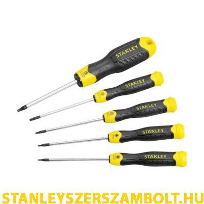 Stanley Torx TT5 6 8 10 15 csavarhúzó készlet  STHT2-65155