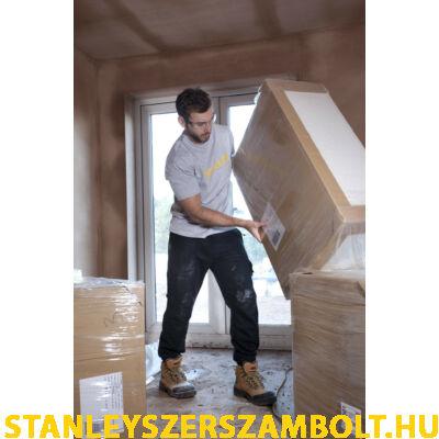 Stanley Fekete/Szürke Póló  -M-L-XL -XXL  (LYONS-GREY-XXL)