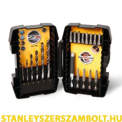 Stanley FatMax 19 részes fémfúrószár és bitfej készlet (STA88200)
