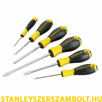 Stanley Essential csavarhúzókészlet 6db-os (STHT0-60209)
