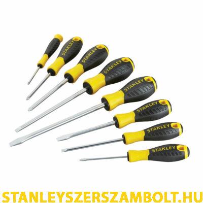 Stanley Essential csavarhúzókészlet 8db-os (STHT0-60210)