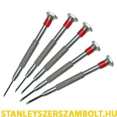 Stanley Precíziós mini csavarhúzó készlet 5 részes (STHT0-62686)