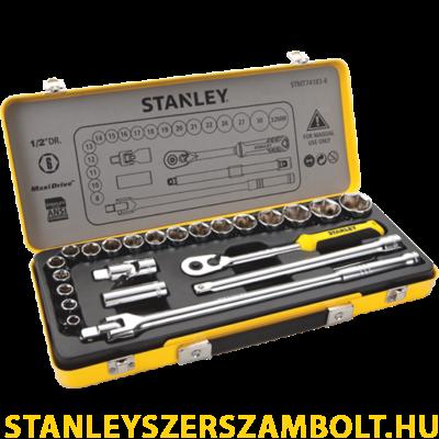 """Stanley dugókulcs készlet fém dobozban 24 részes 1/2"""" (STMT74183-8)"""